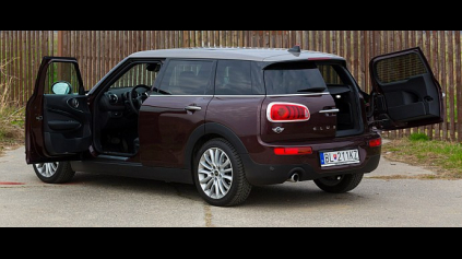 TEST: MINI CLUBMAN COOPER D (F54)