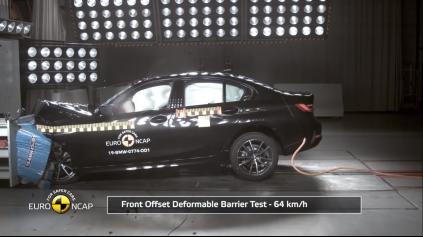 BMW 3 Euro NCAP zvládlo na výbornú