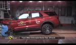 Euro NCAP Ford Explorer zvládol na 5 hviezd, ale s pripomienkami