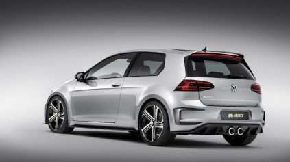 Koncept Golfu R400 ide do výroby, možno dostane až 420k