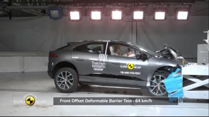 Jaguar I-Pace Euro NCAP: elektrická šelma s 5 hviezdičkami