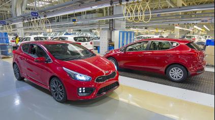 Výroba áut na Slovensku opäť prekročila viac ako 1 milión áut