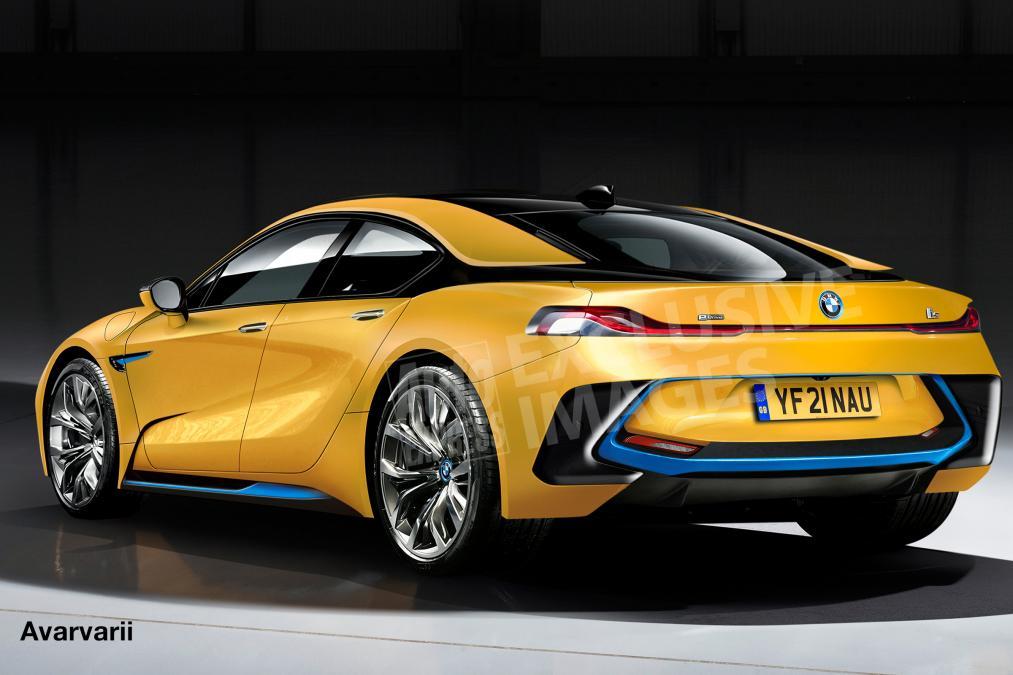 BMW i5 vizualizacia