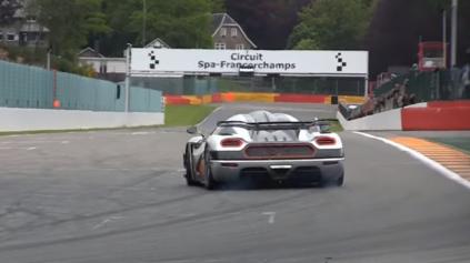 Jazdec F1 Adrian Sutil sa nebojí poslať Koenigsegg One:1 bokom