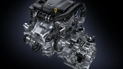 Aký je prvý benzínový turbomotor v Lexuse?