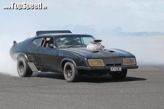 Originálny Interceptor alias XB GT Ford Falcon Coupe z roku 1973