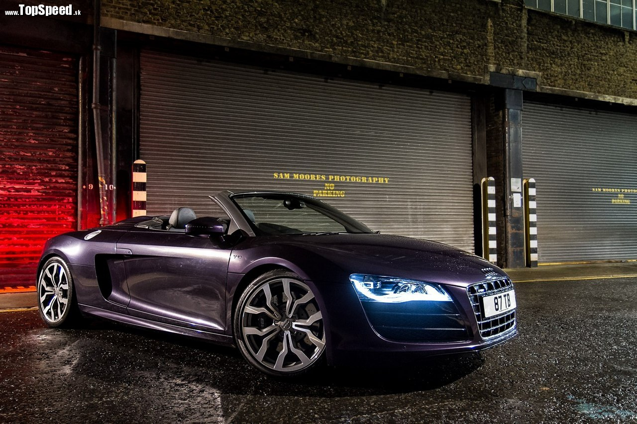 Audi R8 ( Sam Moores photography )