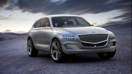 Genesis GV80 ukazuje, ako by mohlo vyzerať luxusné SUV na vodík