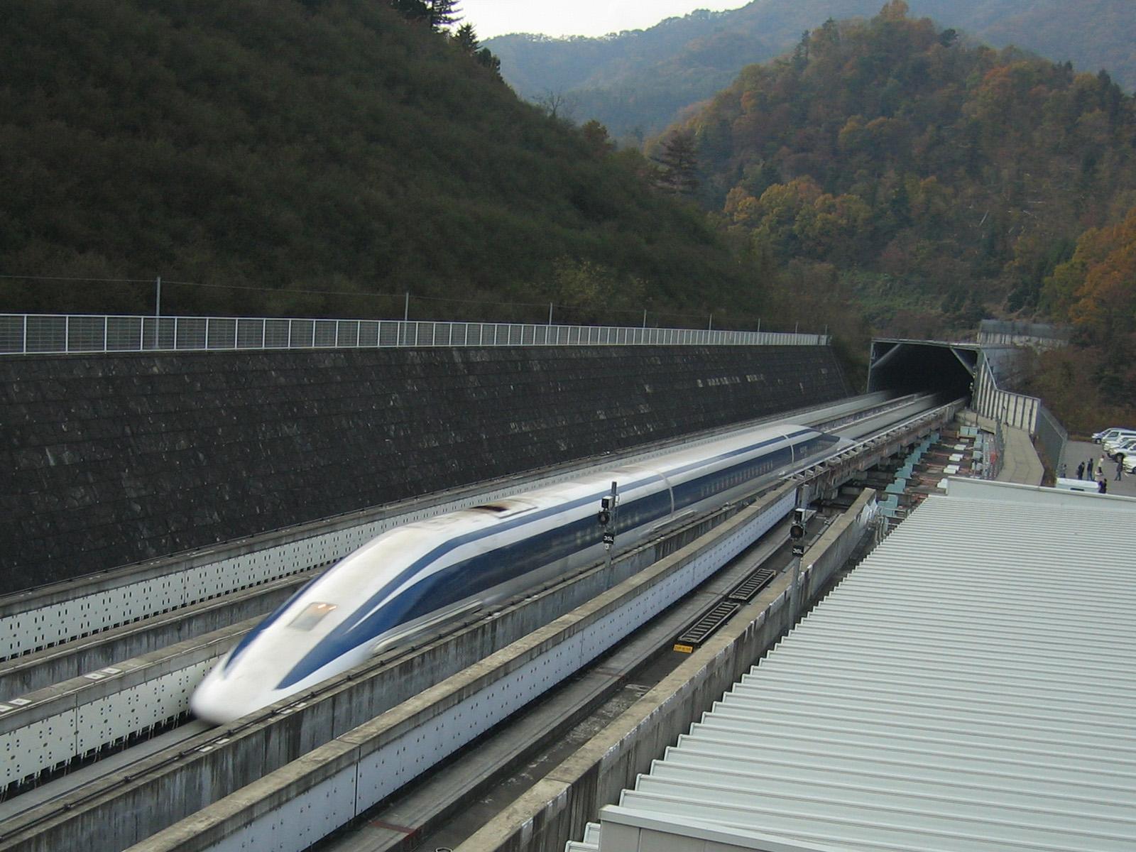 Maglev topspeed 590km/h