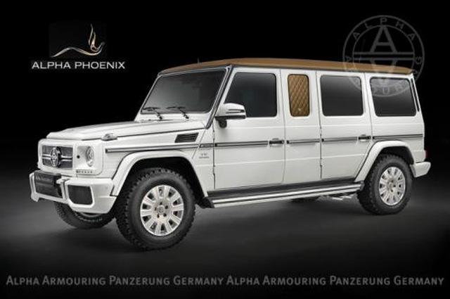 Alpha Phoenix Mercedes G63 AMG