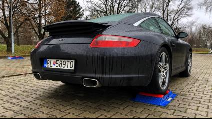 Porsche 911 Targa4S 997 4x4 test