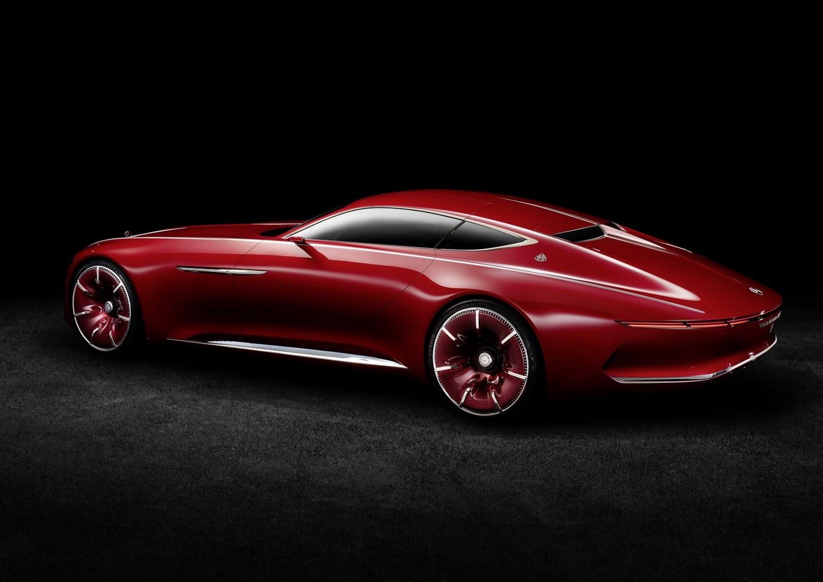 Mercedes-Maybach 6 Vision kupé