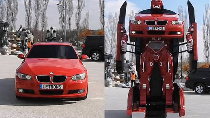 V ANKARE POSTAVILI SKUTOČNÉHO TRANSFORMERA Z BMW RADU 3 E92