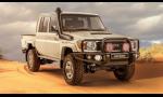 Toyota predstavila retro novinku. Land Cruiser 79 Namib 4.5D V8