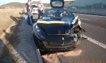 Veľká nehoda Ferrari 812 na R1 pri Žarnovici. Môže za ňu zlomený záves kolesa?
