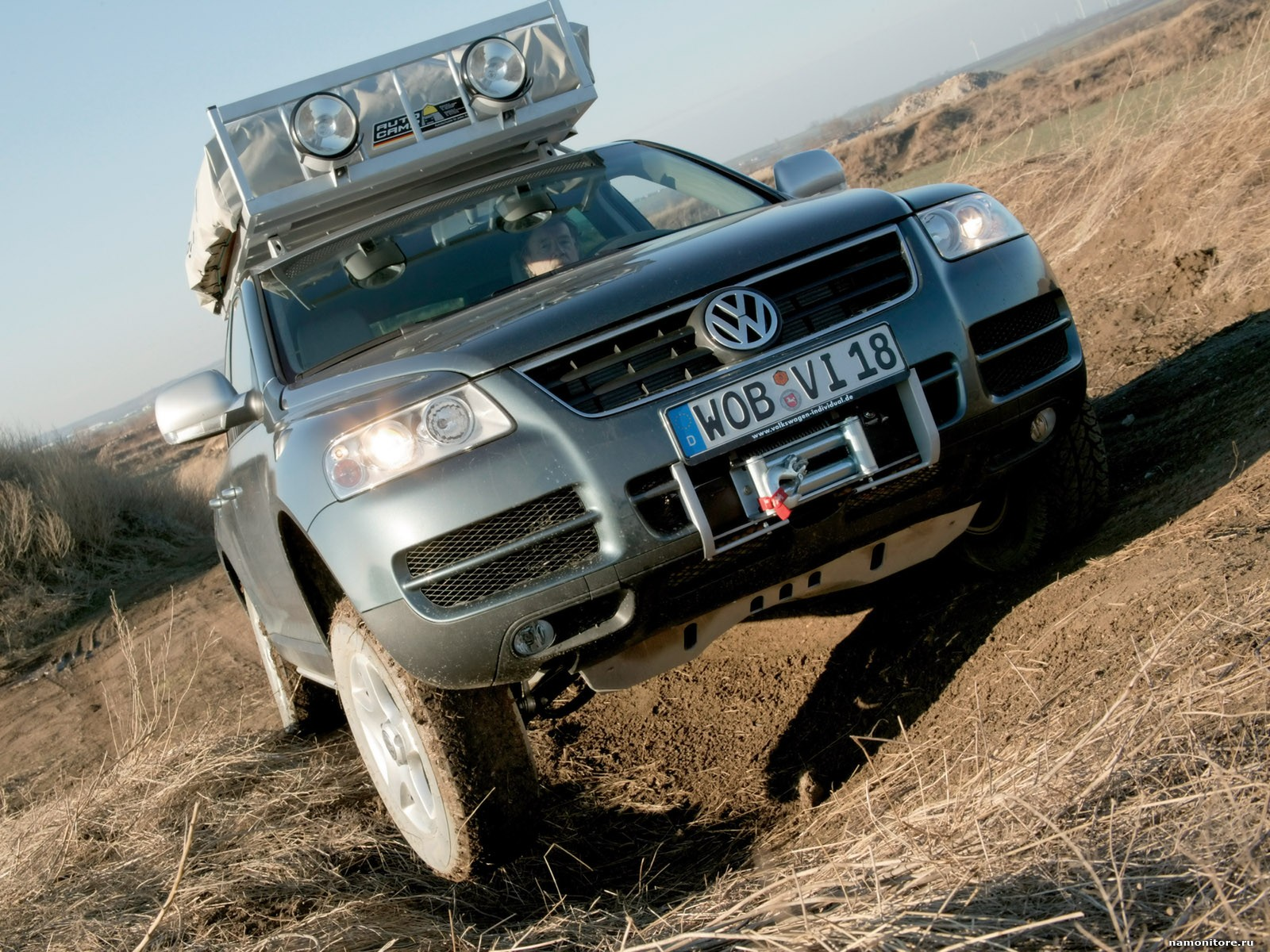 TopSpeed.sk test jazdenky Volkswagen Touareg 1.generácie