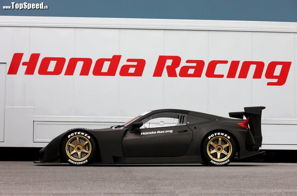Honda HSV-010 nahradí úspešnú NSX GT