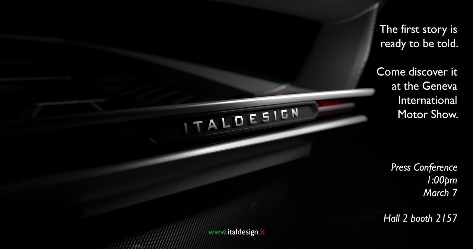 Italdesign v Ženeve predstaví novú značku a supercar