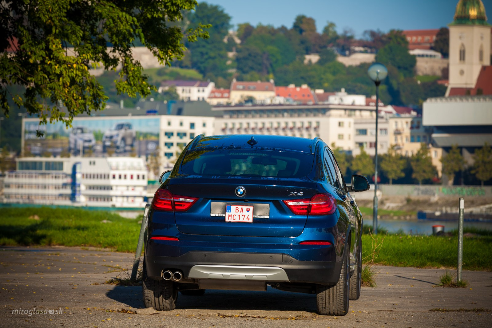 TopSpeed.sk test: BMW X4 3,0d