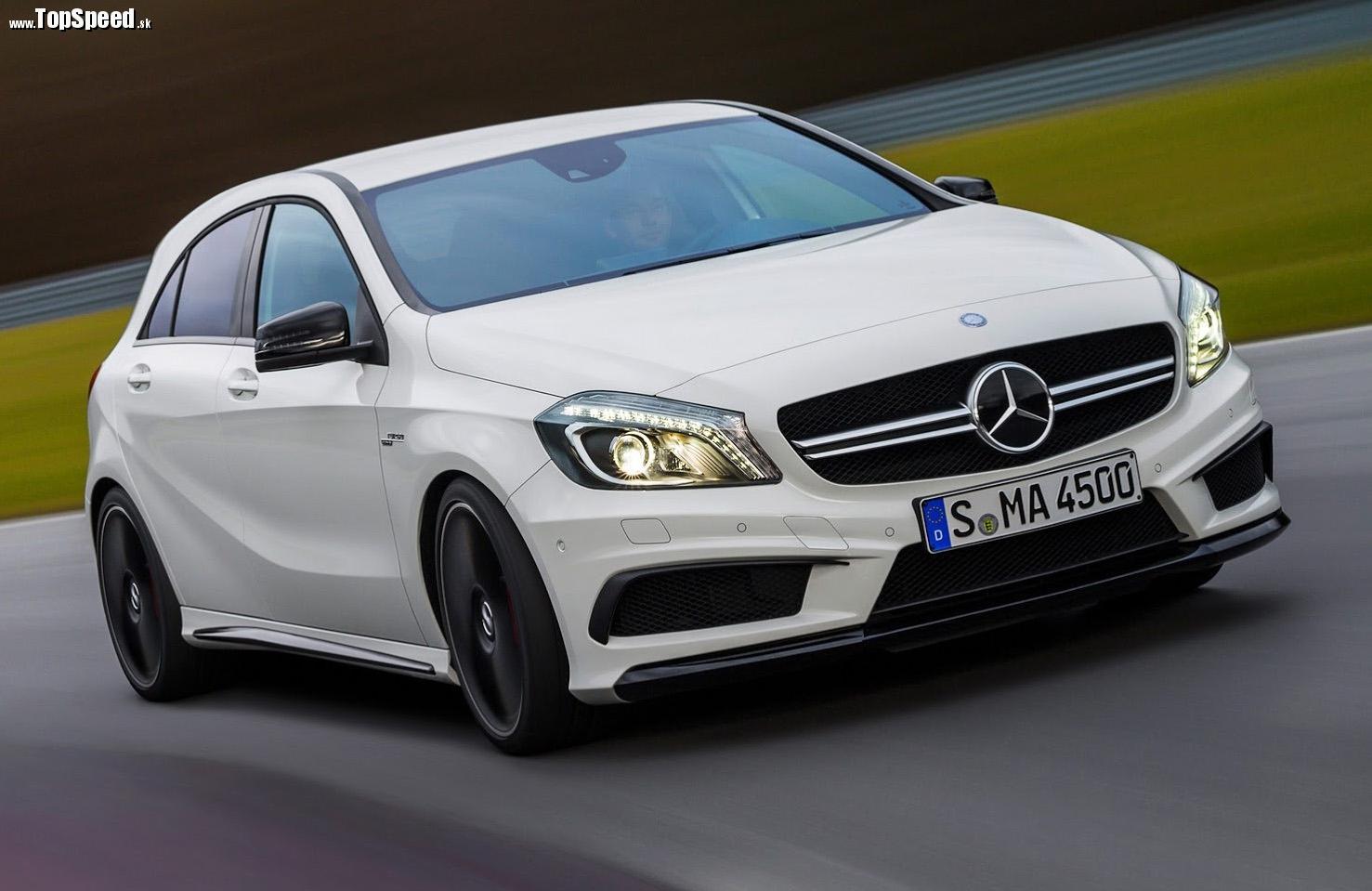 Mercedes triedy A je príliš veľký...