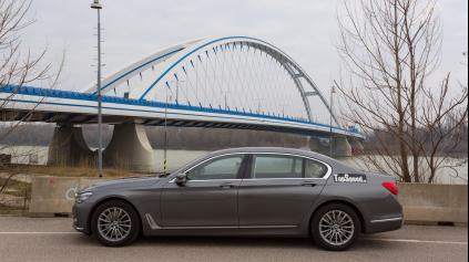 Test BMW 750Li G12 Executive