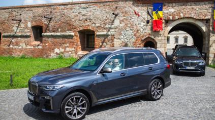 PRVÁ JAZDA: AKÉ SÚ BMW X7 A MODERNIZOVANÉ BMW 7?