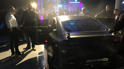 V AMG PERFORMANCE CENTRUM BRATISLAVA SME SPOZNALI AMG GT 63