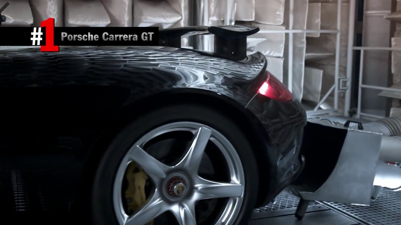 Porsche TOP5 zvuk motorov