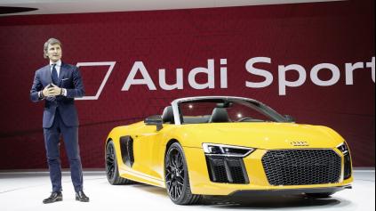 Boss Lamborghini chce posunúť Audi Sport na novú úroveň