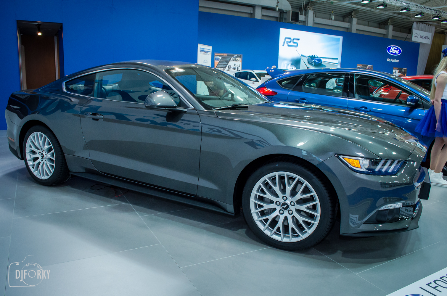 Ford Mustang na Autosalone Bratislava 2016