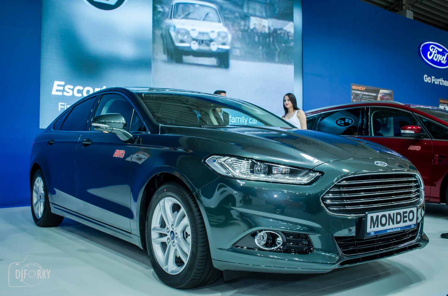 Ford Mondeo Hybrid na autosalone bratislava 2016