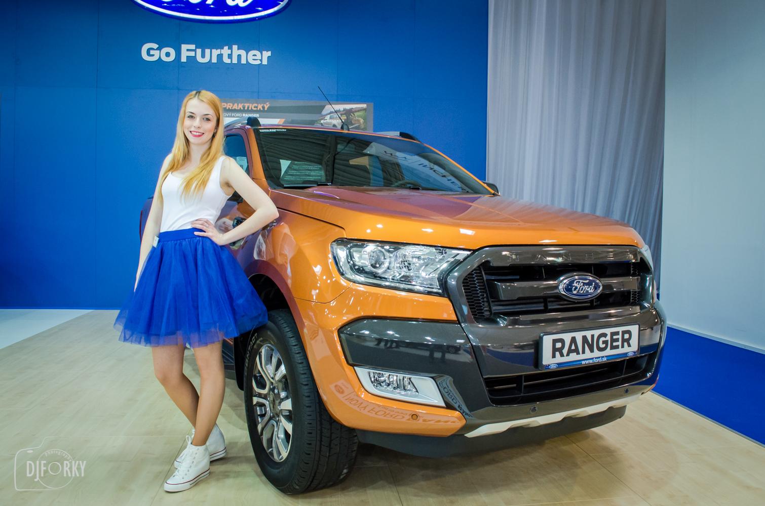 Ford Ranger na autosalone bratislava 2016