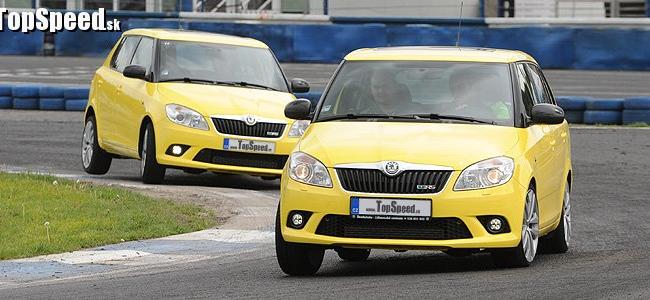 Škoda Fabia RS a RS Combi