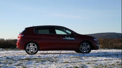 Test: Peugeot 308 THP155