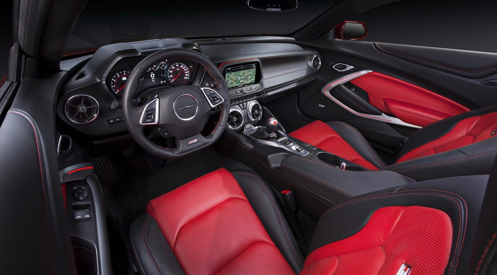 Chevrolet Camaro 6.gen 2016
