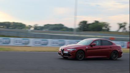 Jazda: Alfa Romeo Giulia