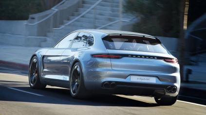 Porsche Panamera príde aj v krajšej karosérii Shooting Brake