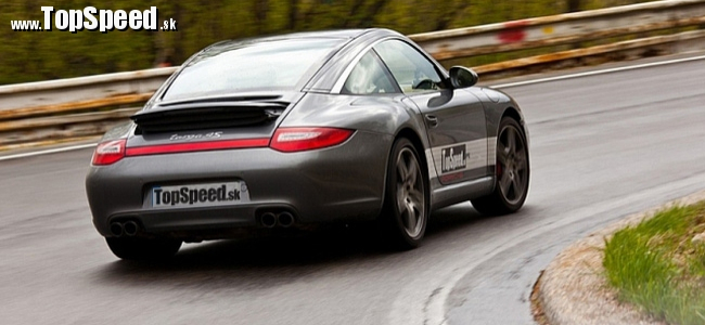 Recenzia Porsche 911 Targa 4S (997) PDK