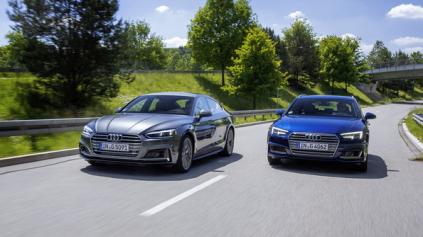 Audi g-tron ponúka pohon na zemný plyn pre A4 Avant a A5 Sportback