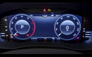 ŠKODA PREDSTAVÍ V KAROQ-U DIGITAL INSTRUMENT PANEL