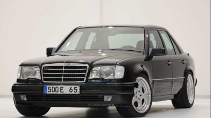 BRABUS E500 W124 6.5 JE LEGENDA. V R1990 MAL 450 K A STO DÁ ZA 5,2 S!