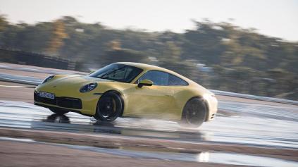 Unikátny režim Porsche wet mode pomôže pri jazde na vode