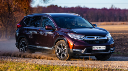 TEST HONDA CR-V 1.5 VTEC TURBO AWD: LEGISLATÍVE PO SRSTI