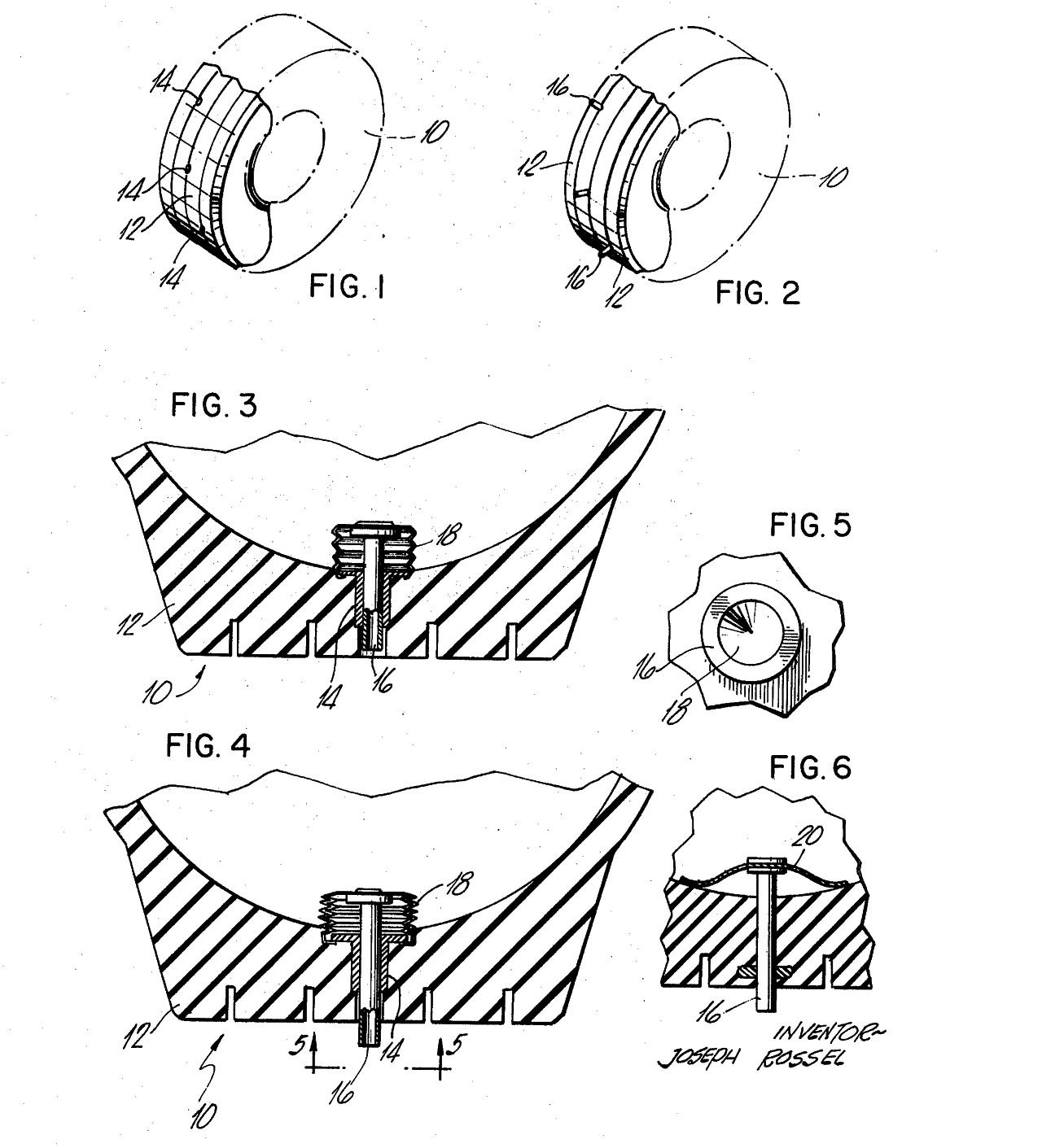 patentovane riesenie vysuvnych hrotov na pneumatike