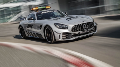 MERCEDES AMG GT R JE NAJSILNEJŠÍ SAFETY CAR FORMULY 1