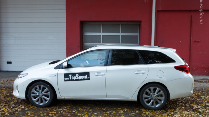 TEST TOYOTA AURIS TOURING SPORTS HYBRID a0633afe1cf