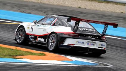 Rišo Gonda v Porsche Carrera Cupe ukazuje kvality
