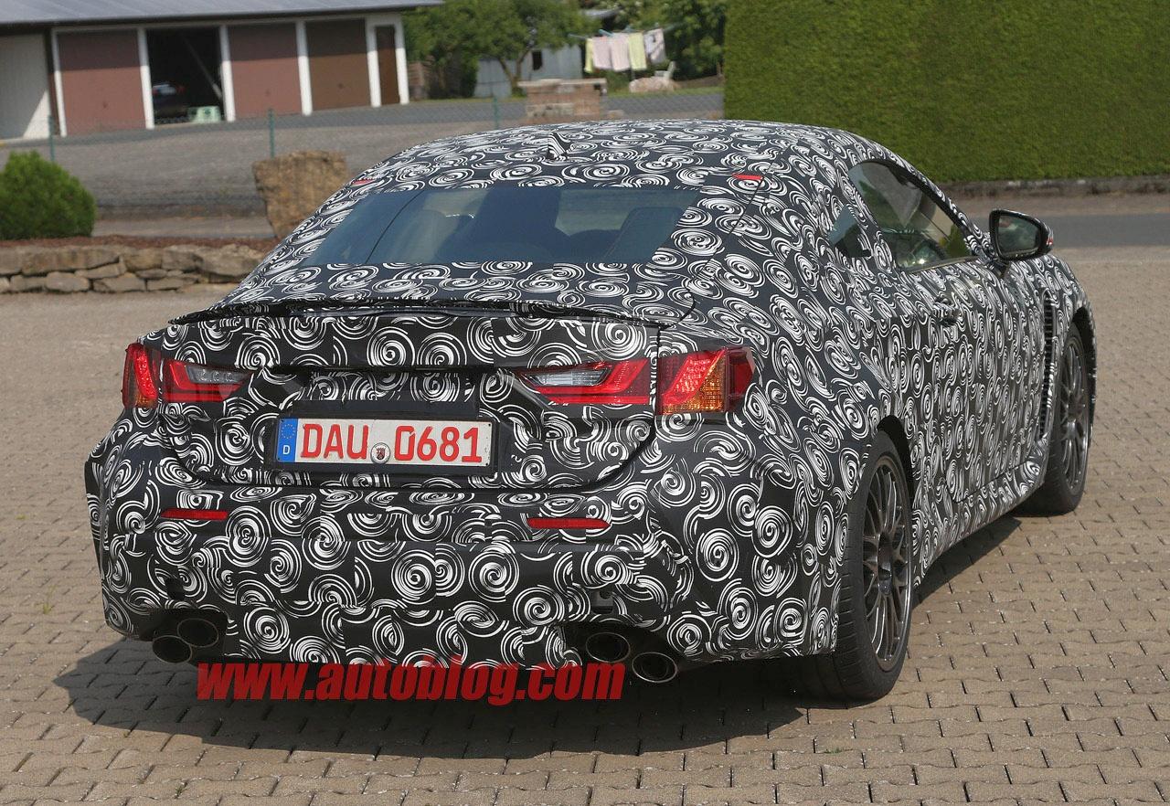 Lexus IS F Coupe - kedy sa ho dočkáme? foto (c) Autoblog / CarPix