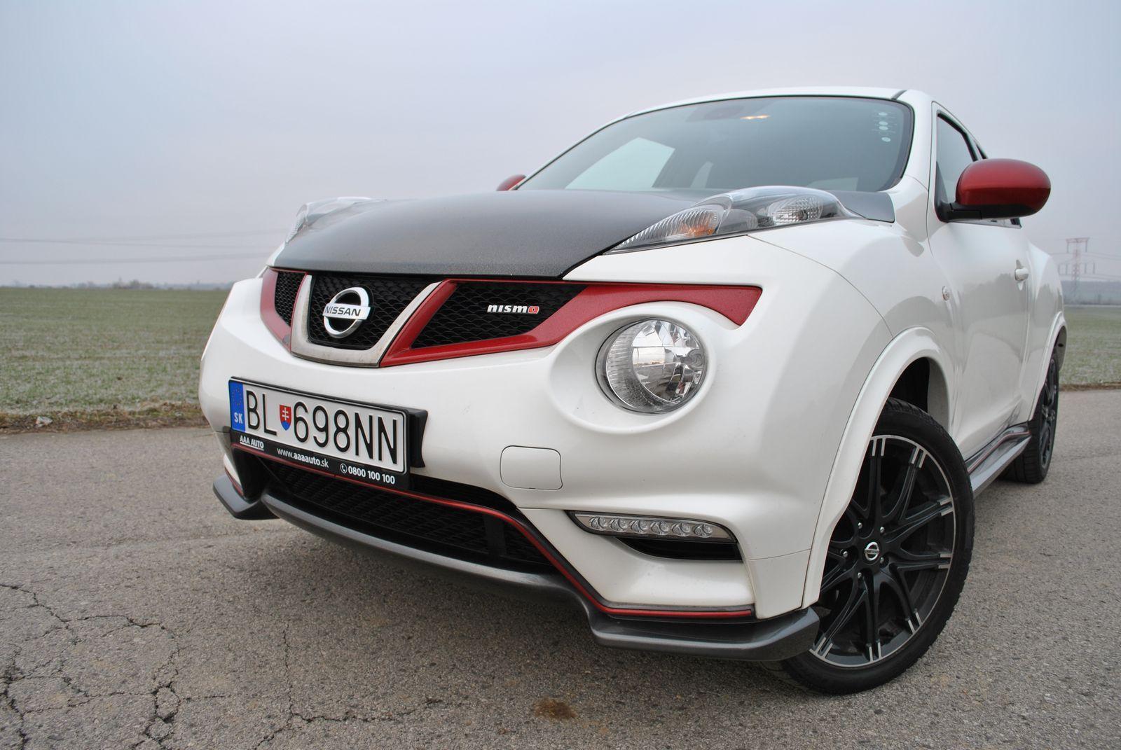TopSpeed.sk test jazdenky Nissan Juke Nismo