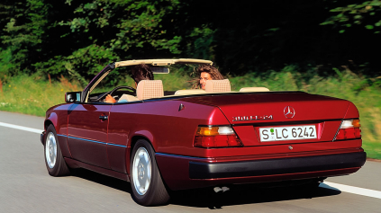 Mercedes E (W124) Cabrio má 25 rokov